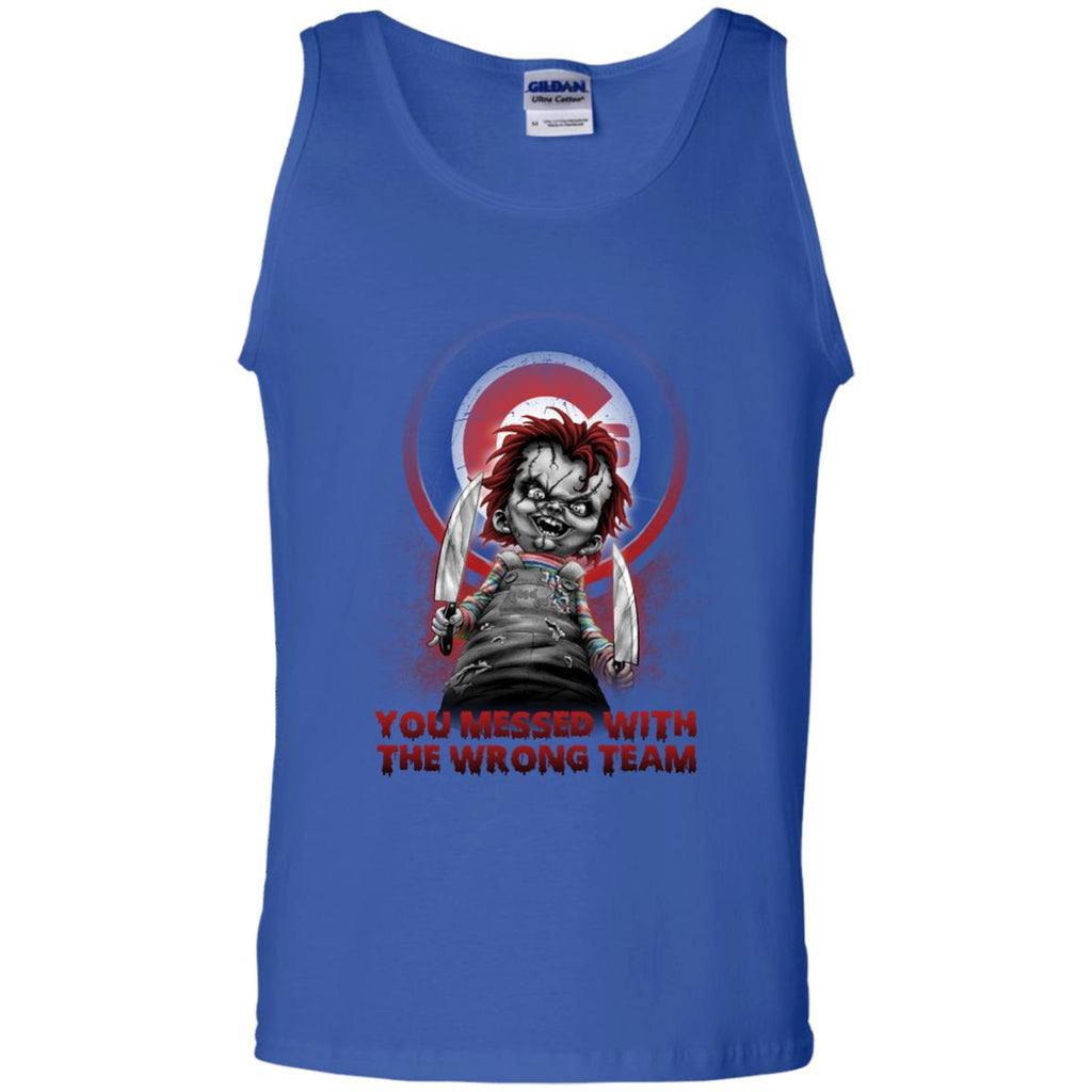 You Messed With The Wrong Chicago Cubs T Shirts
