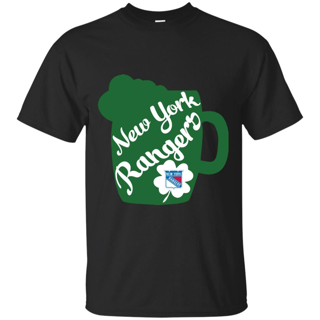 Amazing Beer Patrick's Day New York Rangers T Shirts