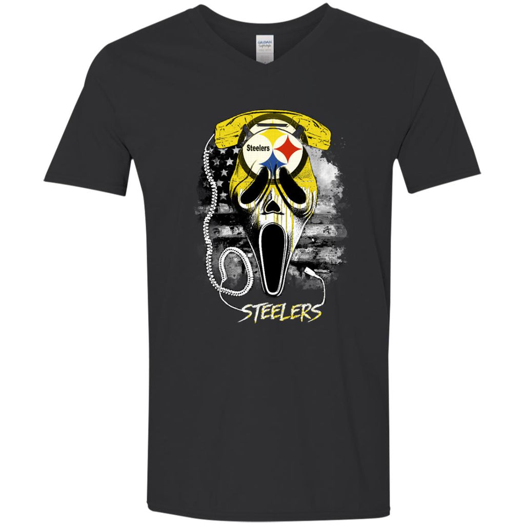 Scream Pittsburgh Steelers T Shirts