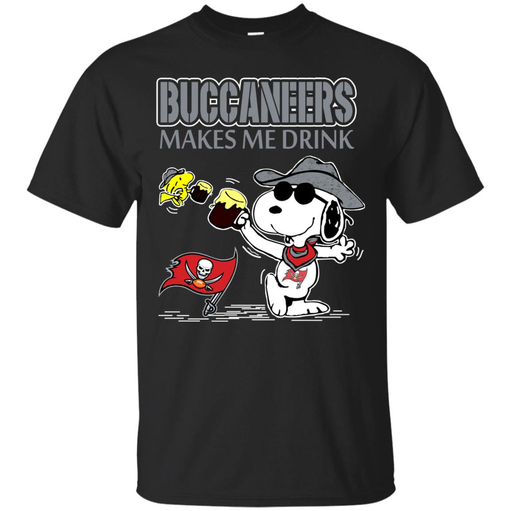 Tampa Bay Buccaneers Make Me Drinks T Shirts