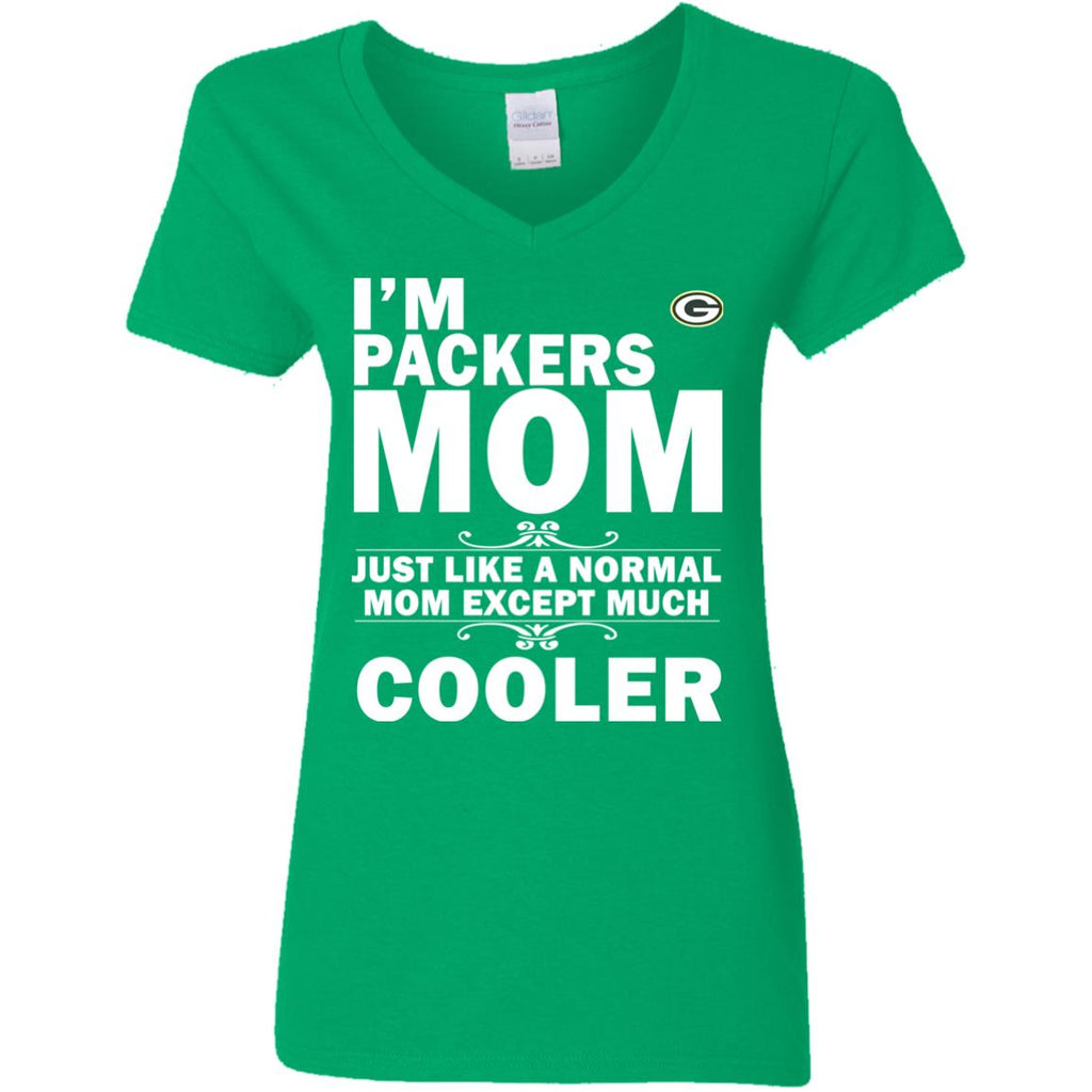 A Normal Mom Except Much Cooler Green Bay Packers T Shirts