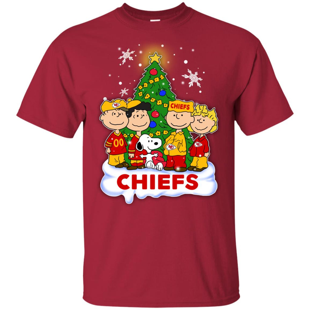 Snoopy The Peanuts Kansas City Chiefs Christmas Sweaters