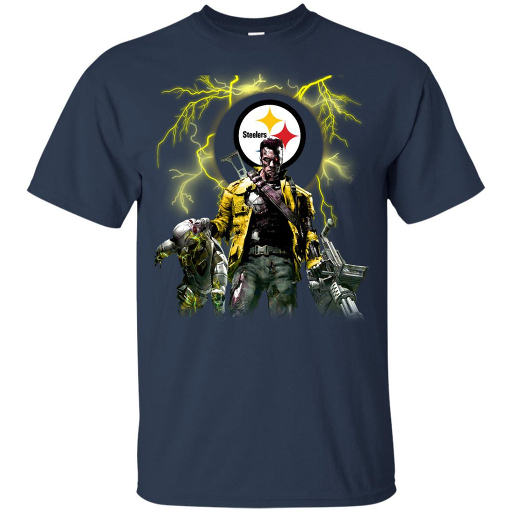 Guns Pittsburgh Steelers T Shirt - Best Funny Store