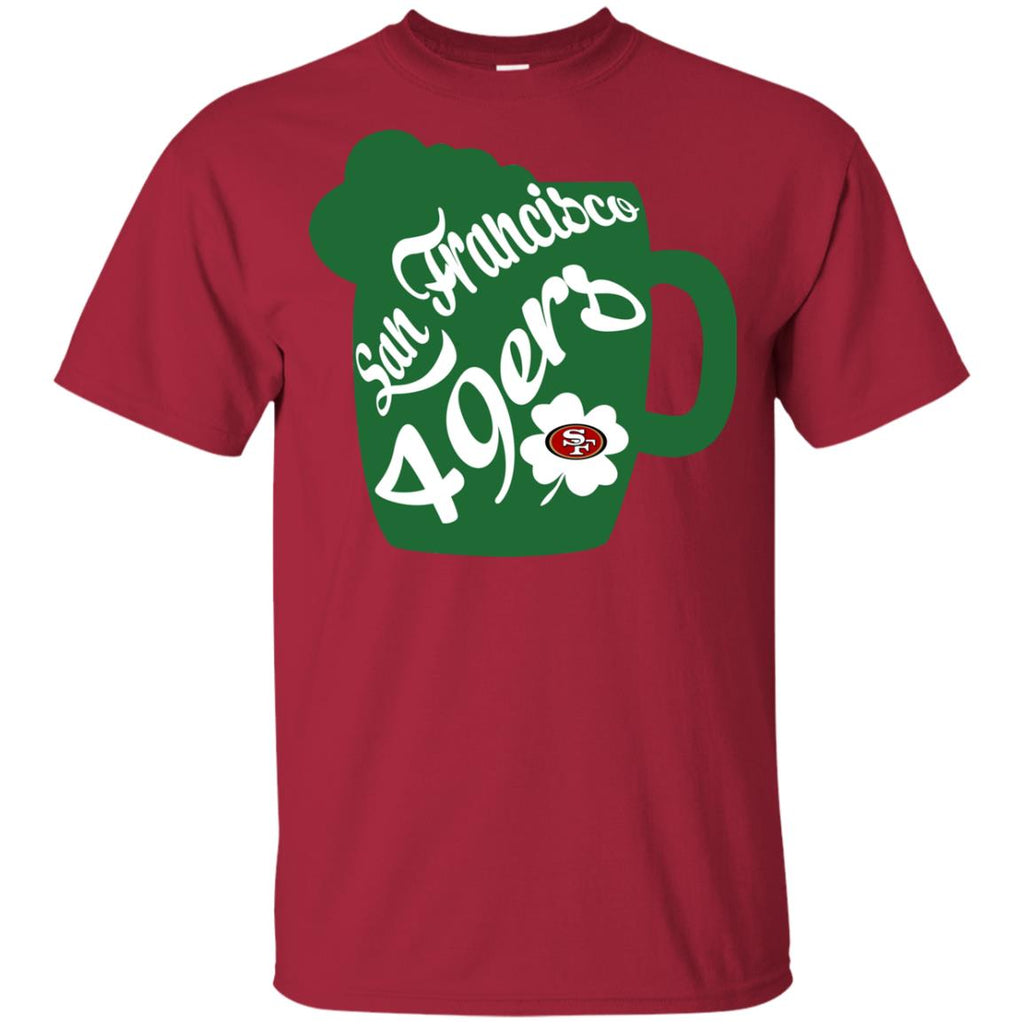 Amazing Beer Patrick's Day San Francisco 49ers T Shirts