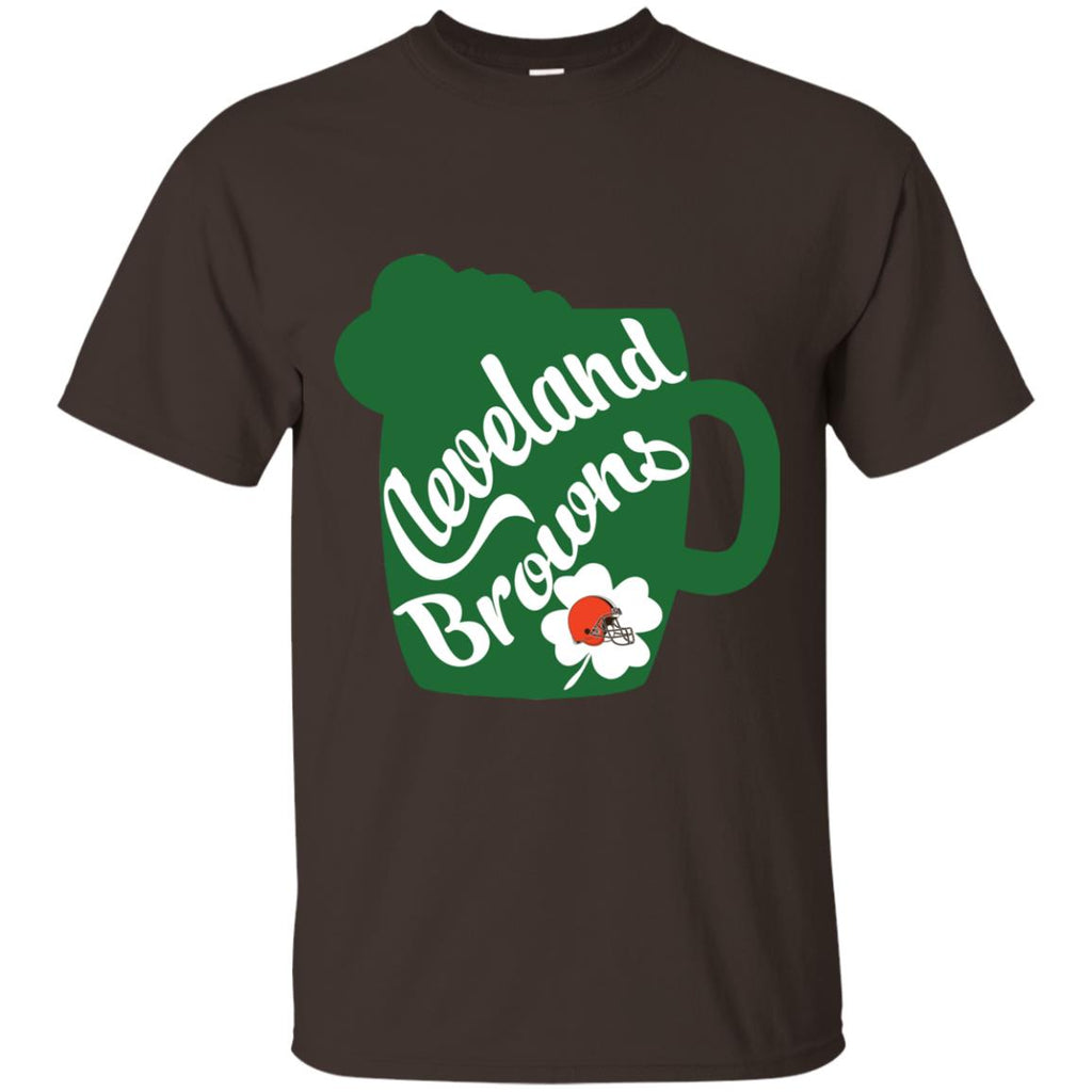 Amazing Beer Patrick's Day Cleveland Browns T Shirts