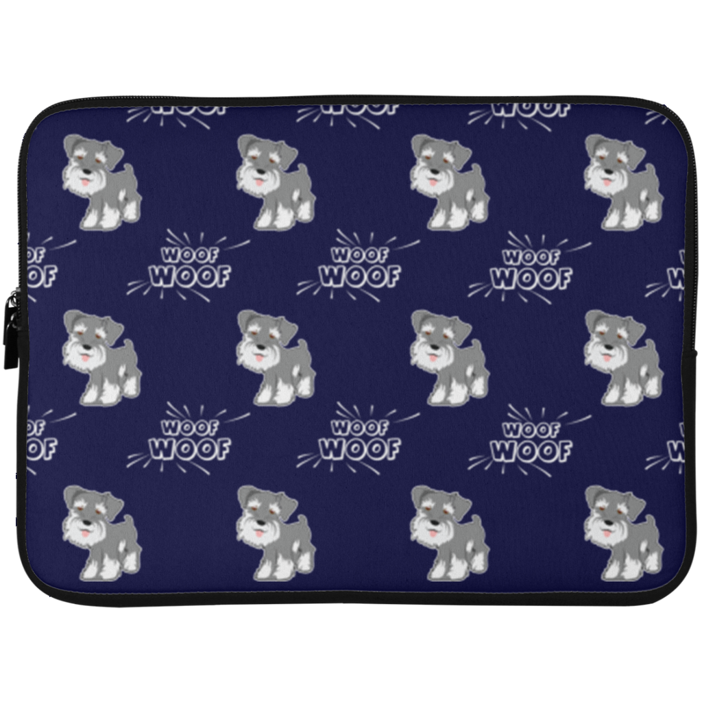 Schnauzer Laptop Sleeves