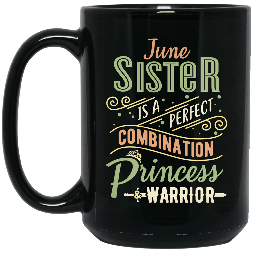 June Sister Combination Princess And Warrior Mugs