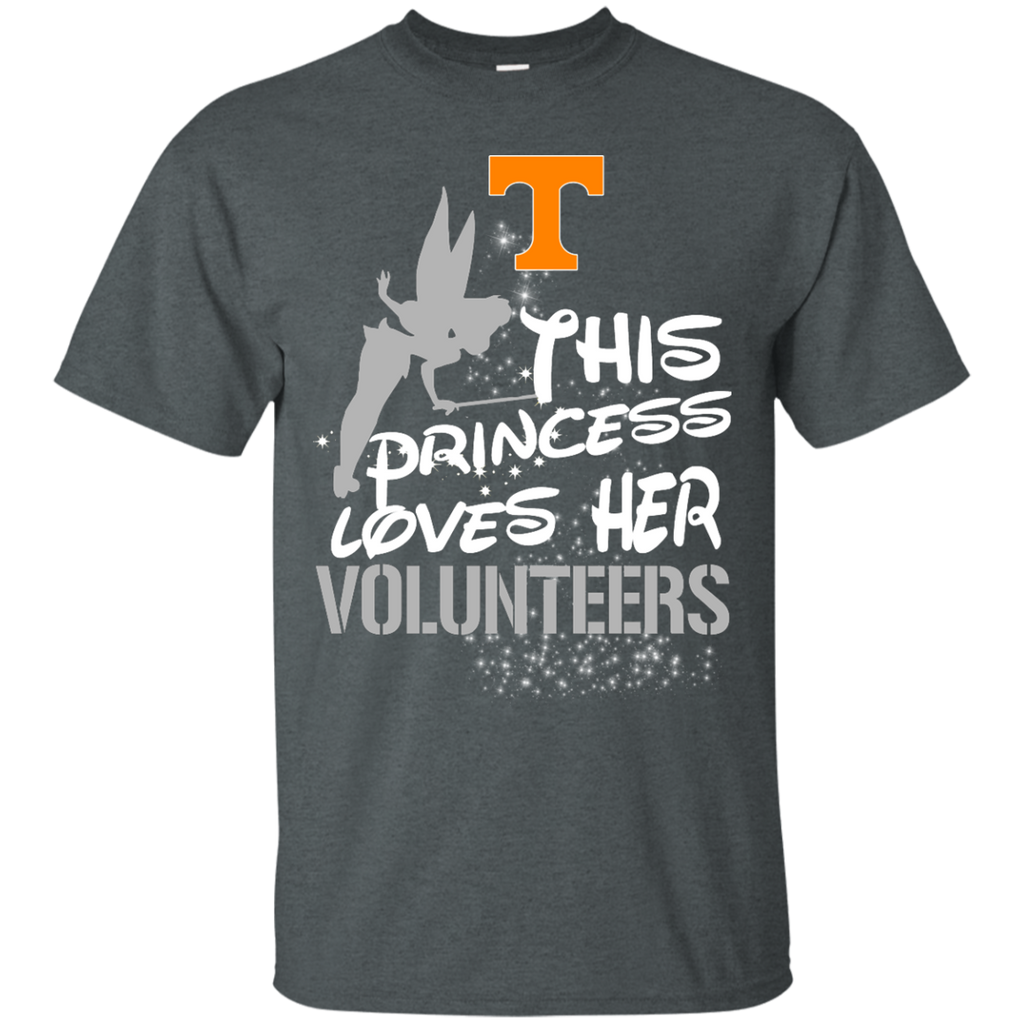 This Princess Love Her Tennessee Volunteers T Shirts