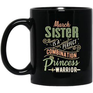 March Sister Combination Princess And Warrior Mugs