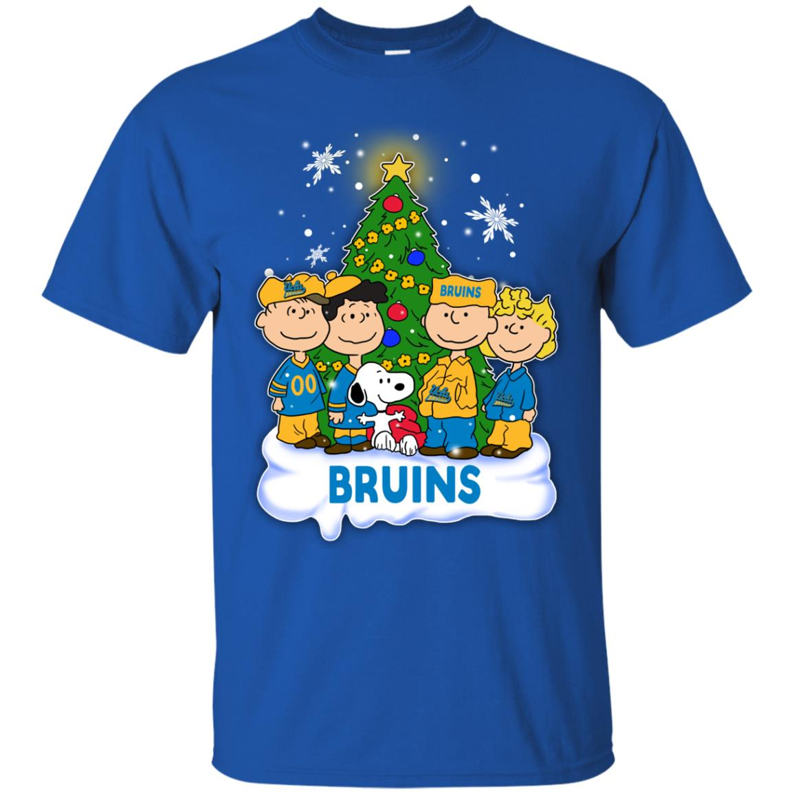 Snoopy The Peanuts UCLA Bruins Christmas T Shirts