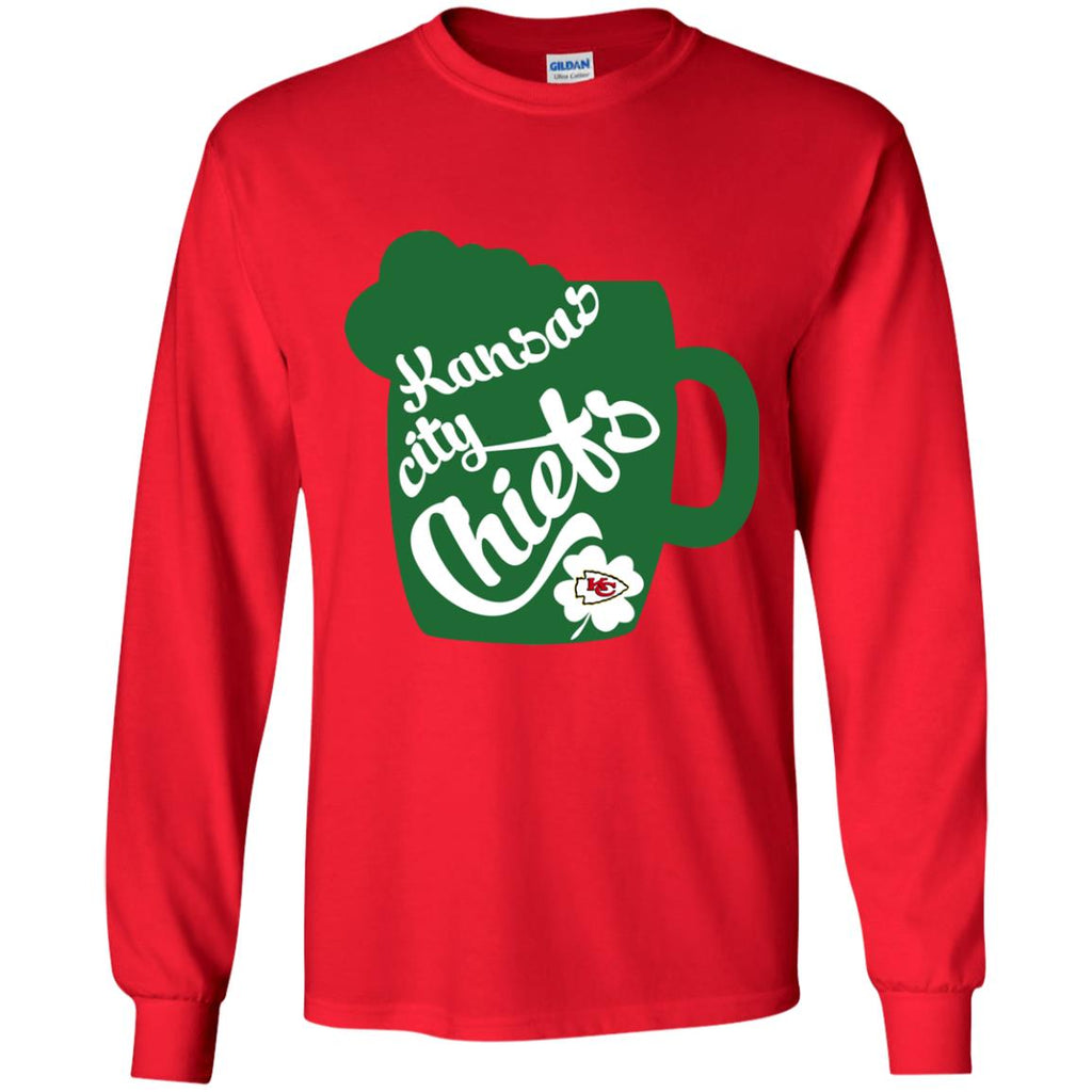 Amazing Beer Patrick's Day Kansas City Chiefs T Shirts