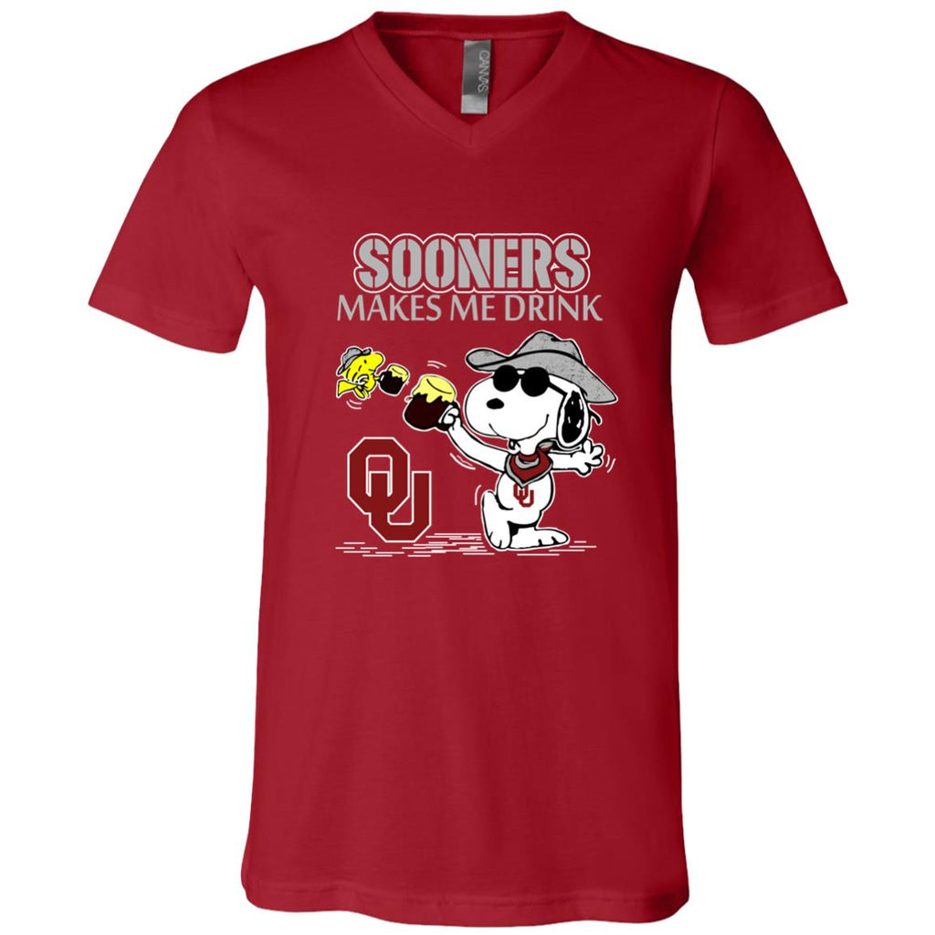 Oklahoma Sooners Make Me Drinks T Shirts