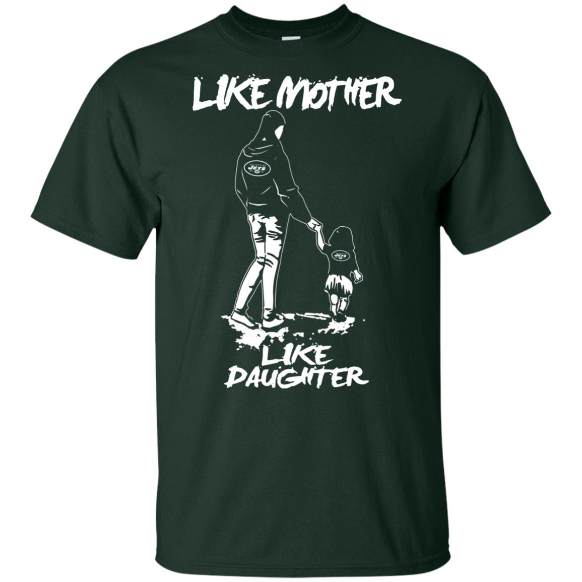 Like Mother Like Daughter New York Jets T Shirts