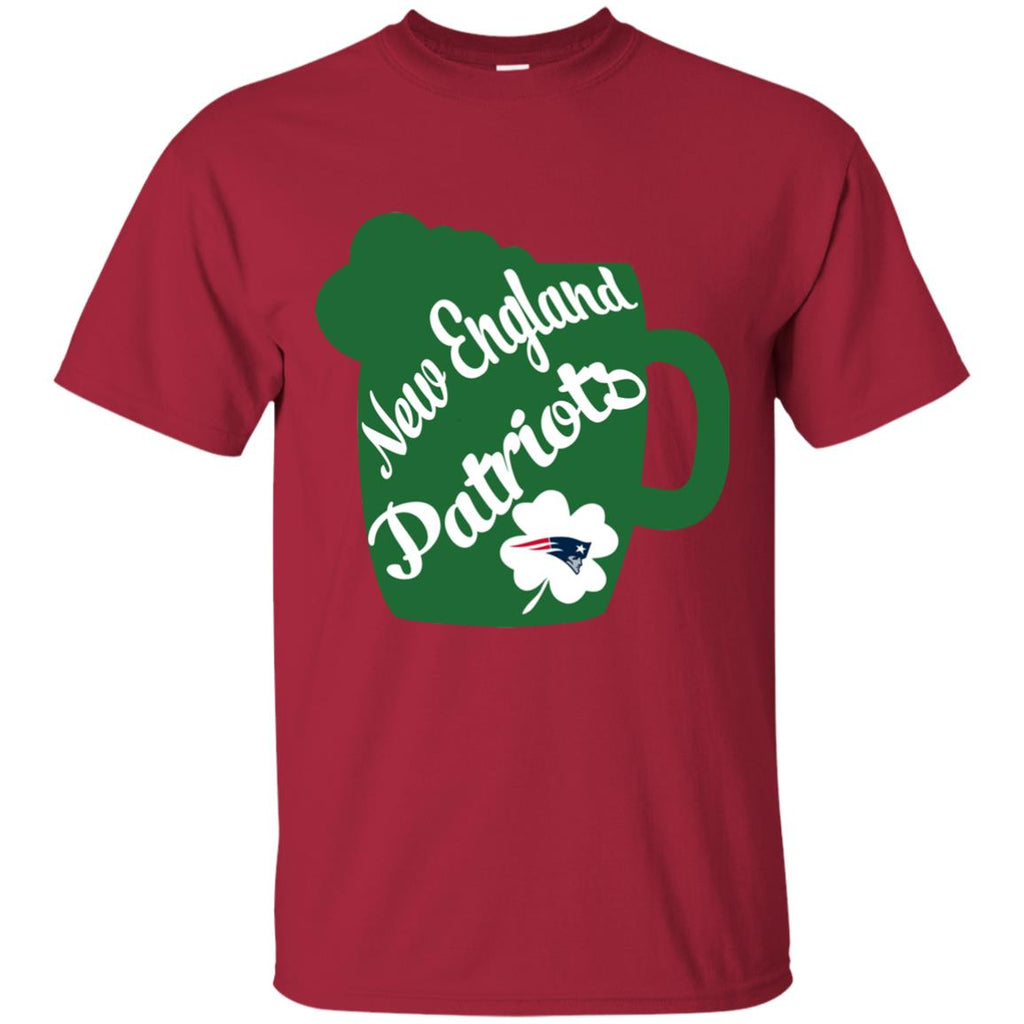 Amazing Beer Patrick's Day New England Patriots T Shirts