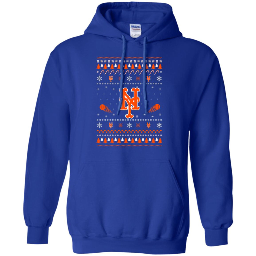 New York Mets Stitch Knitting Style T Shirt