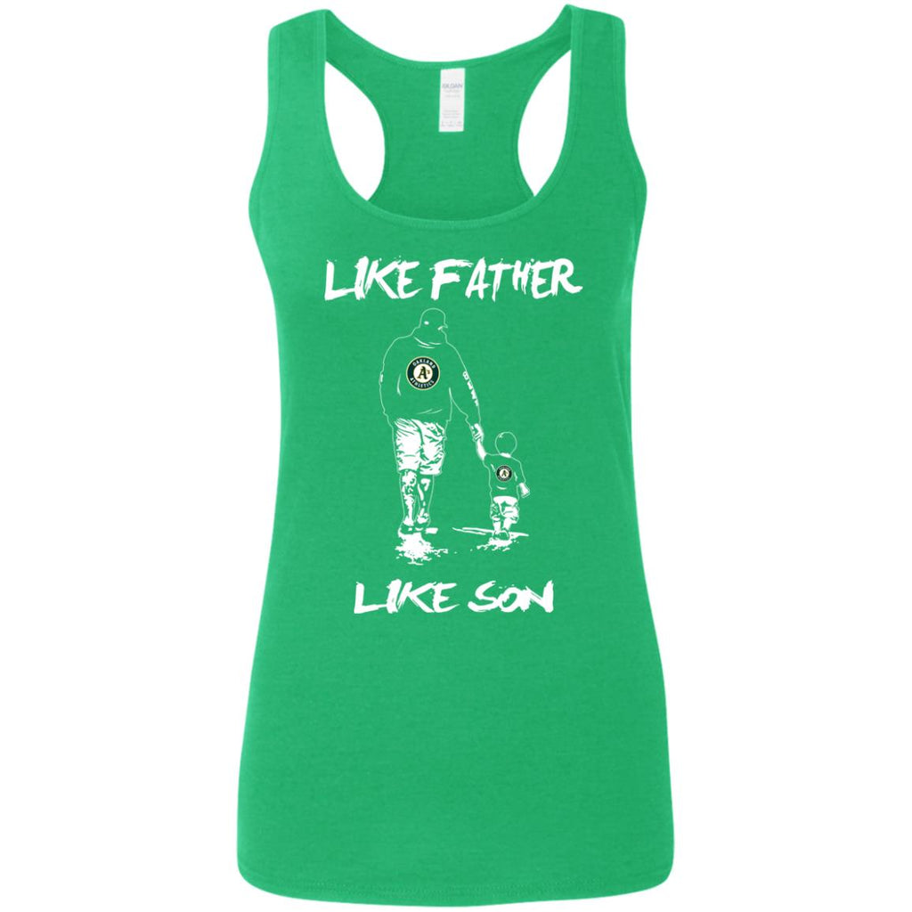 Like Father Like Son Oakland Athletics T Shirt