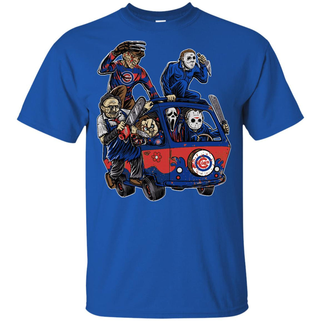 The Massacre Machine Chicago Cubs T Shirt - Best Funny Store