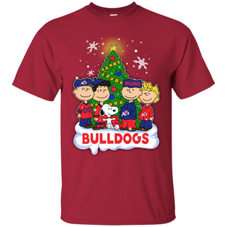Snoopy The Peanuts Fresno State Bulldogs Christmas T Shirts