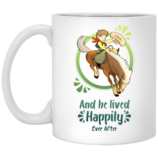 Cowboy Children - Horse And He Lived Happily Ever After Mugs
