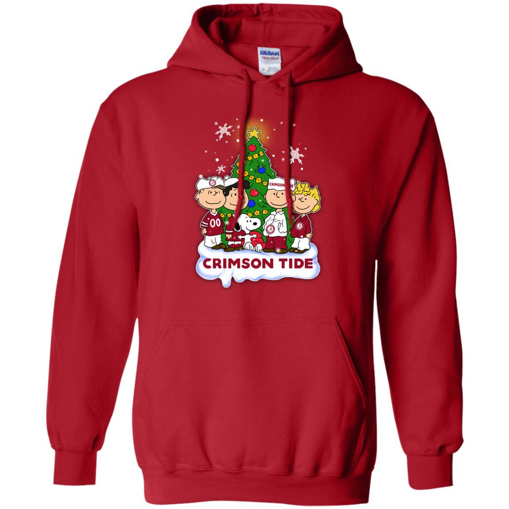 Snoopy The Peanuts Alabama Crimson Tide Christmas Sweaters