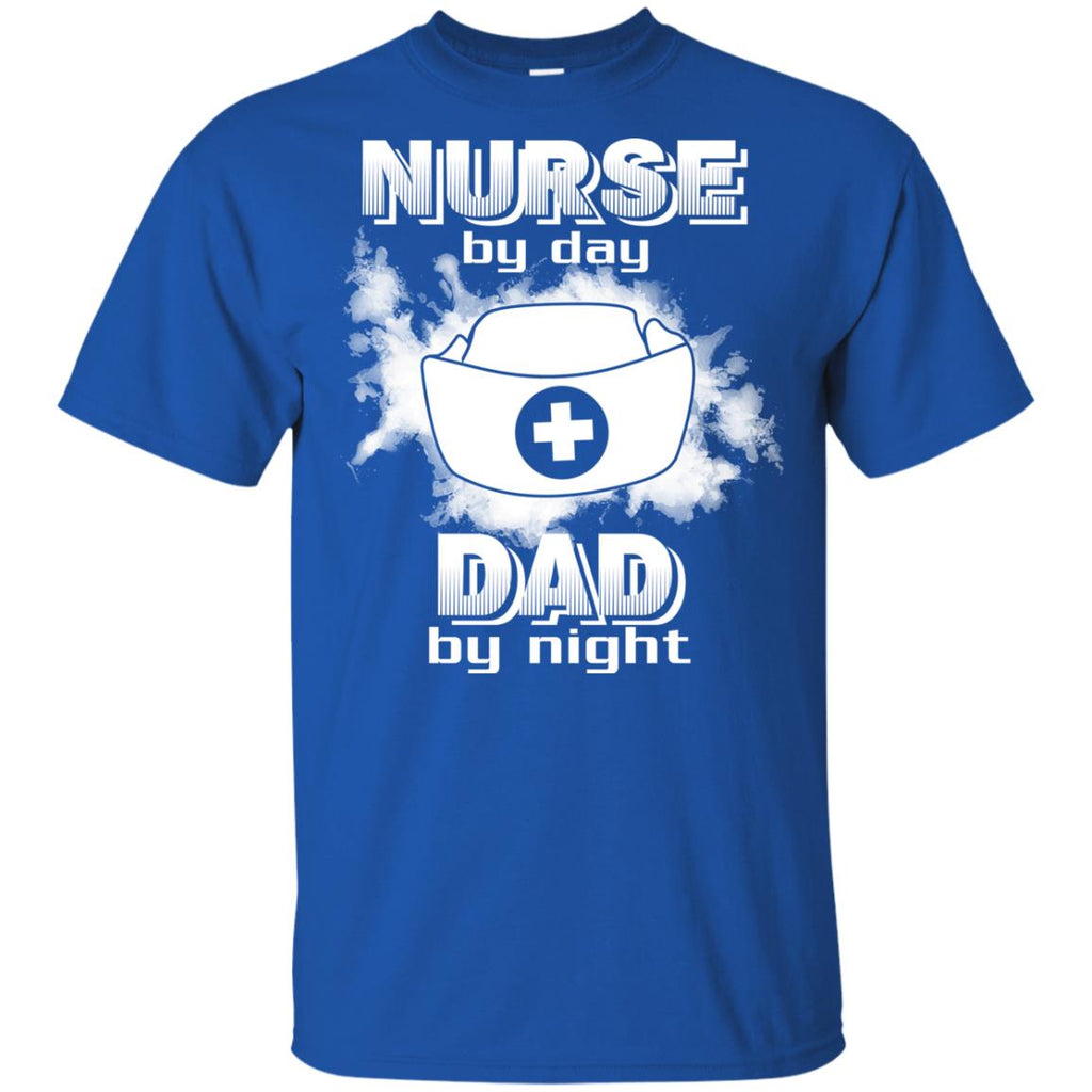 Nurse By Day Dad By Night T Shirts
