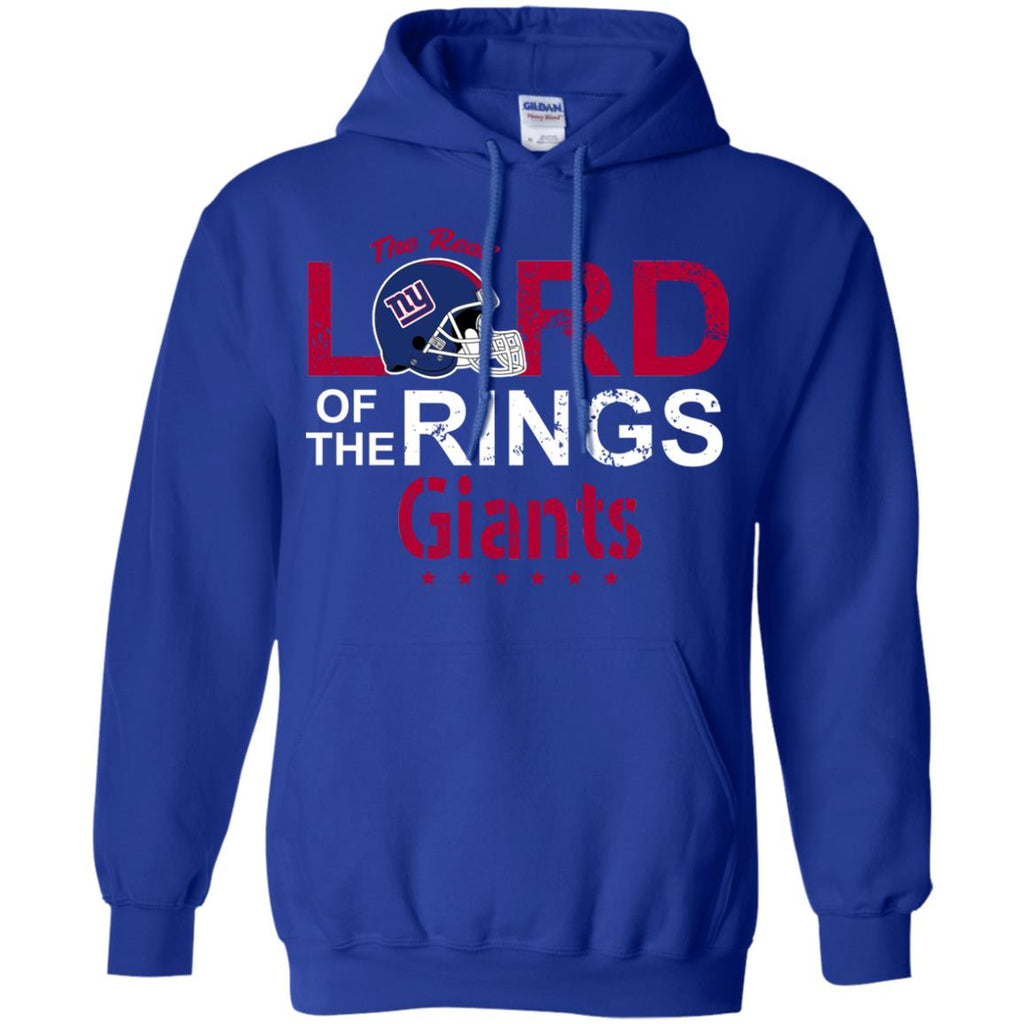 The Real Lord Of The Rings New York Giants T Shirts