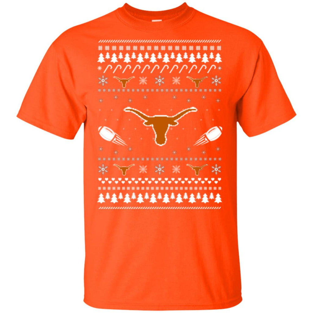 Texas Longhorns Stitch Knitting Style Ugly T Shirts