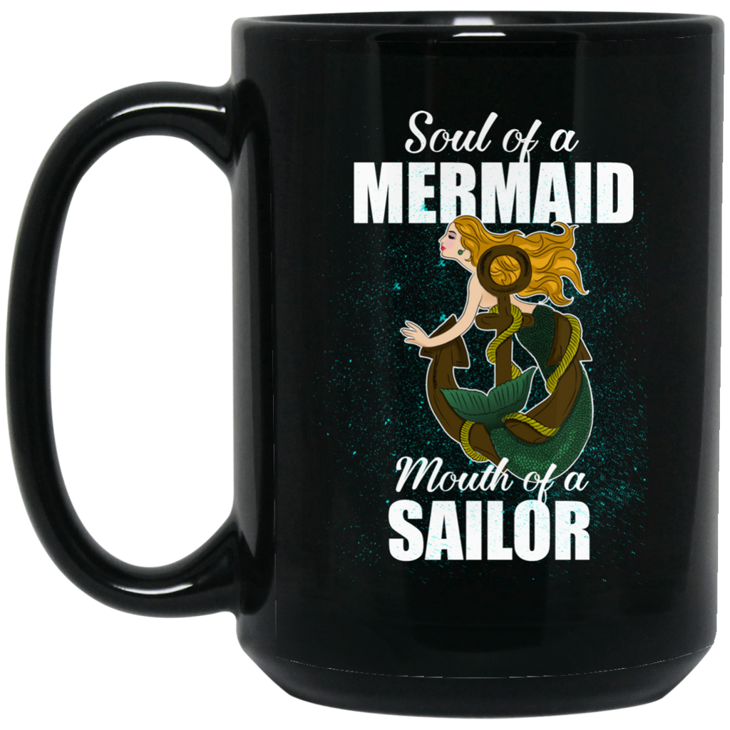 Soul Of A Mermaid Mugs