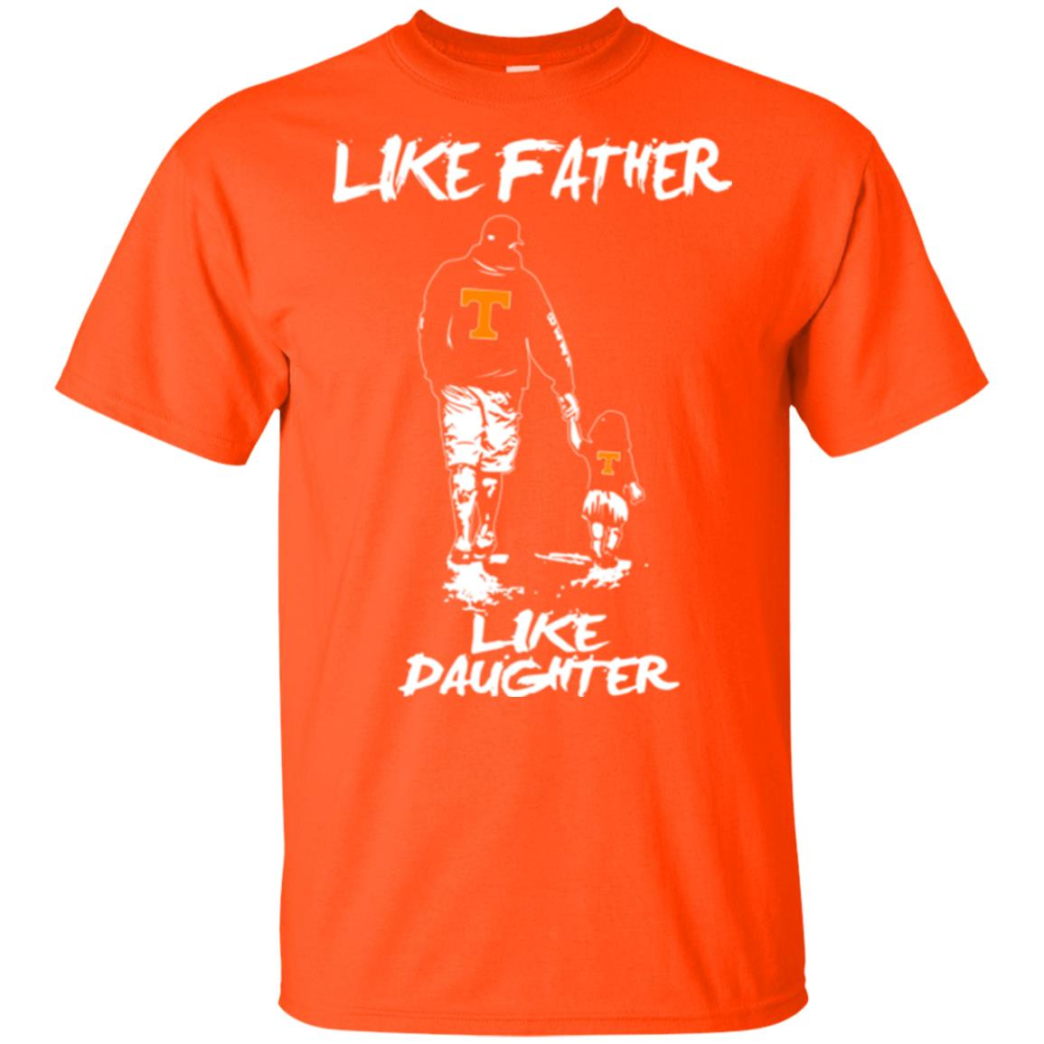 Like Father Like Daughter Tennessee Volunteers T Shirts