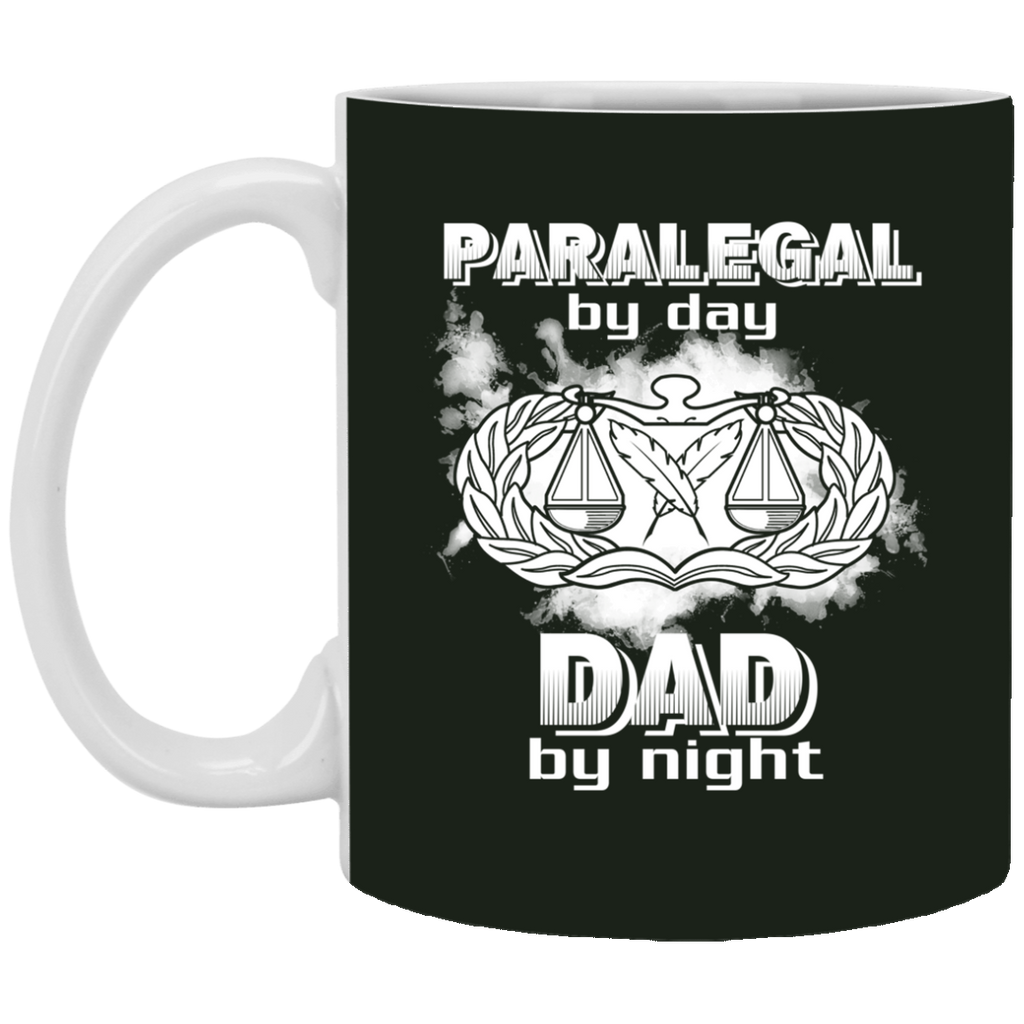 Paralegal By Day Dad By Night Mugs