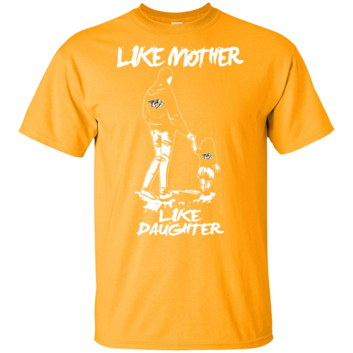 Like Mother Like Daughter Nashville Predators T Shirts