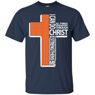 I Can Do All Things Through Christ Chicago Bears T Shirts