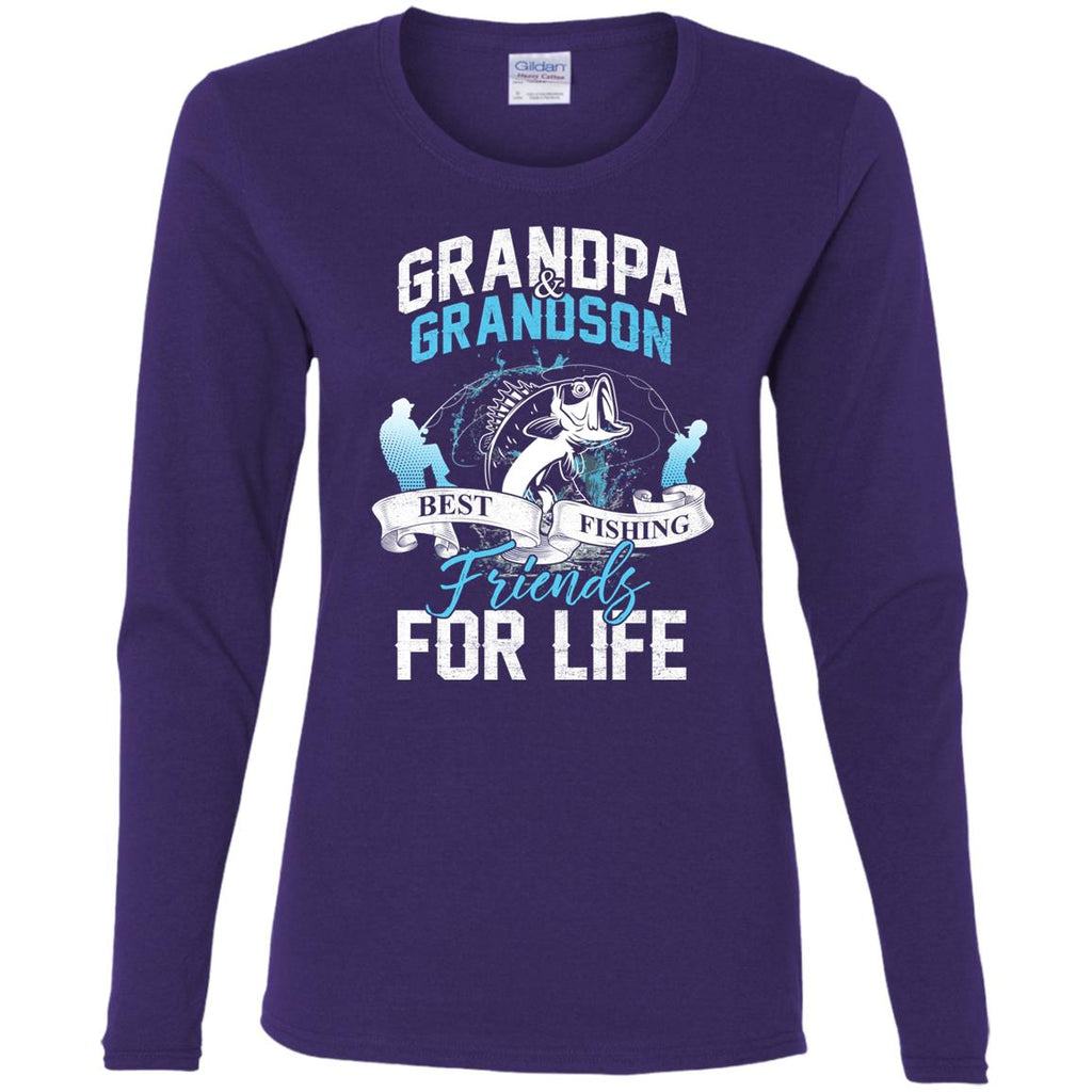 Grandpa & Grandson Best Fishing Friends T Shirts