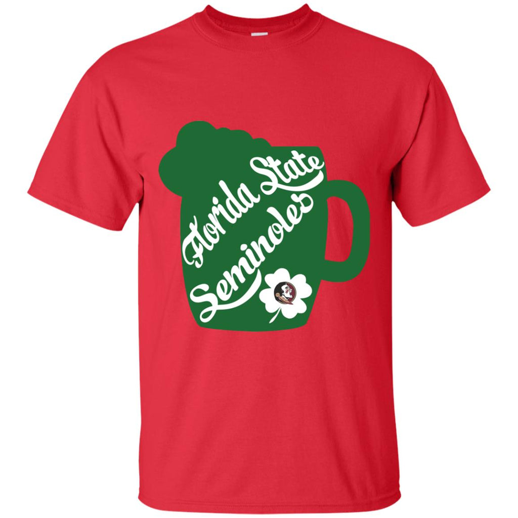 Amazing Beer Patrick's Day Florida State Seminoles T Shirts