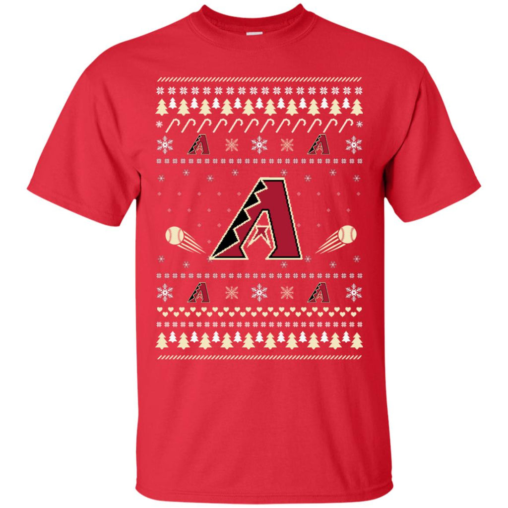 Arizona Diamondbacks Stitch Knitting Style T Shirt