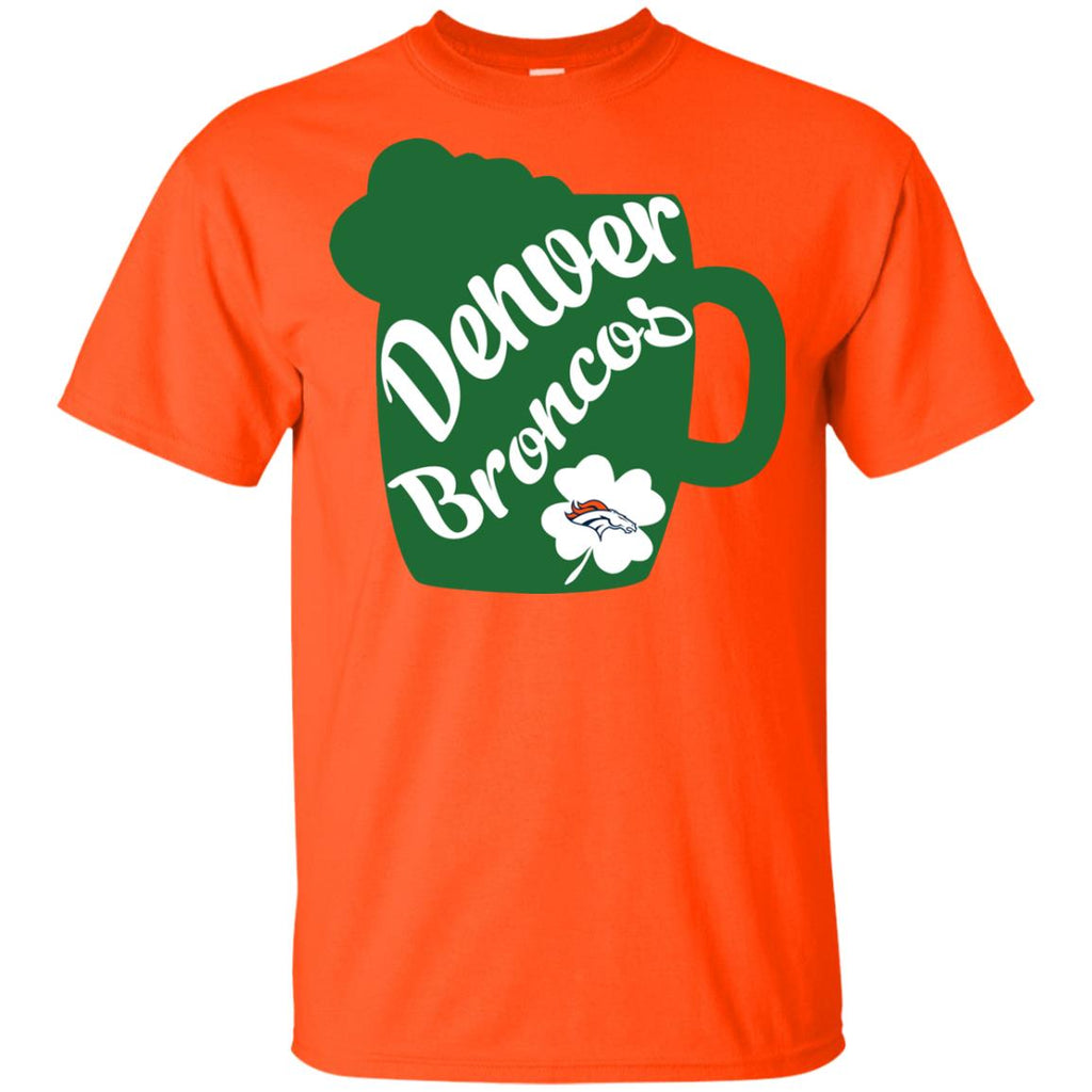 Amazing Beer Patrick's Day Denver Broncos T Shirts
