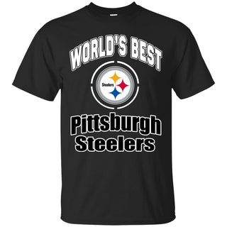 Amazing World's Best Dad Pittsburgh Steelers T Shirts