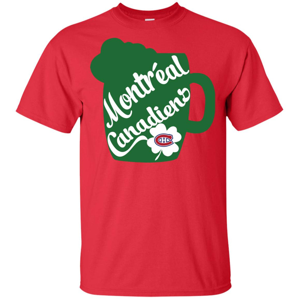 Amazing Beer Patrick's Day Montreal Canadiens T Shirts