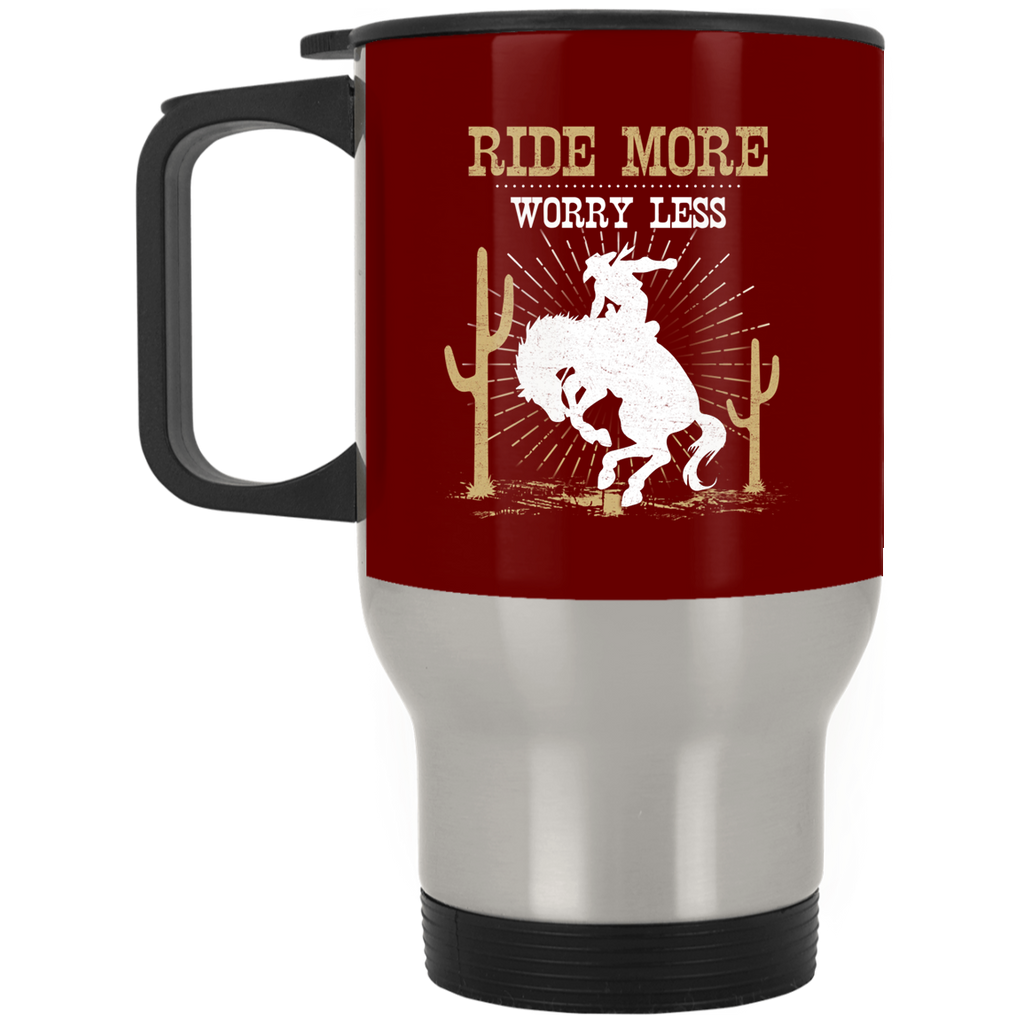 Ride More Worry Less Horse Mugs