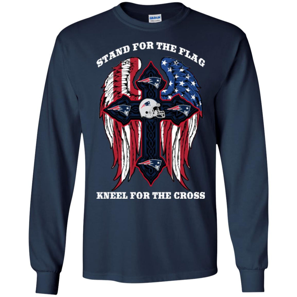Stand For The Flag Kneel For The Cross New England Patriots T Shirts