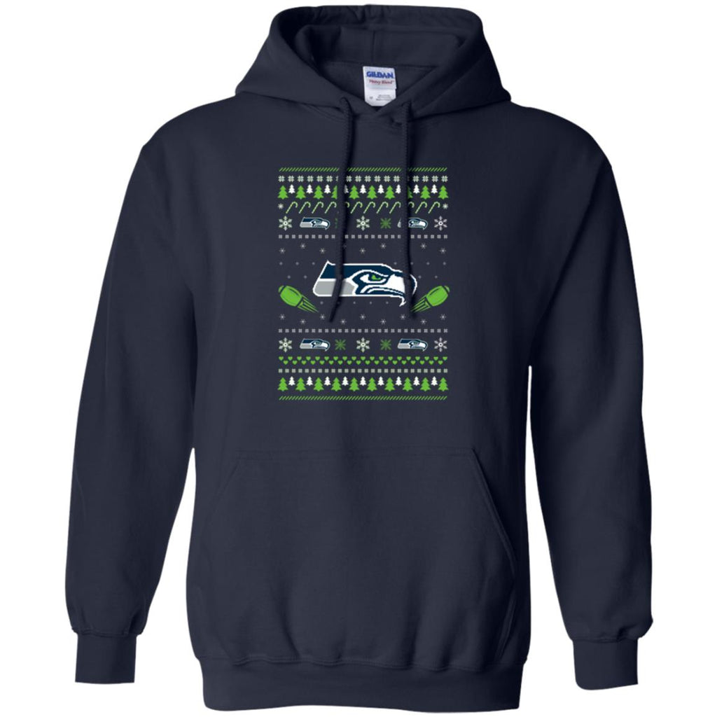 Seattle Seahawks Stitch Knitting Style Ugly T Shirts