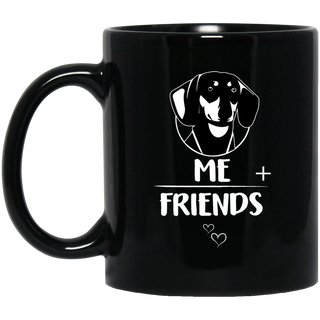 Dachshund Friends Mugs