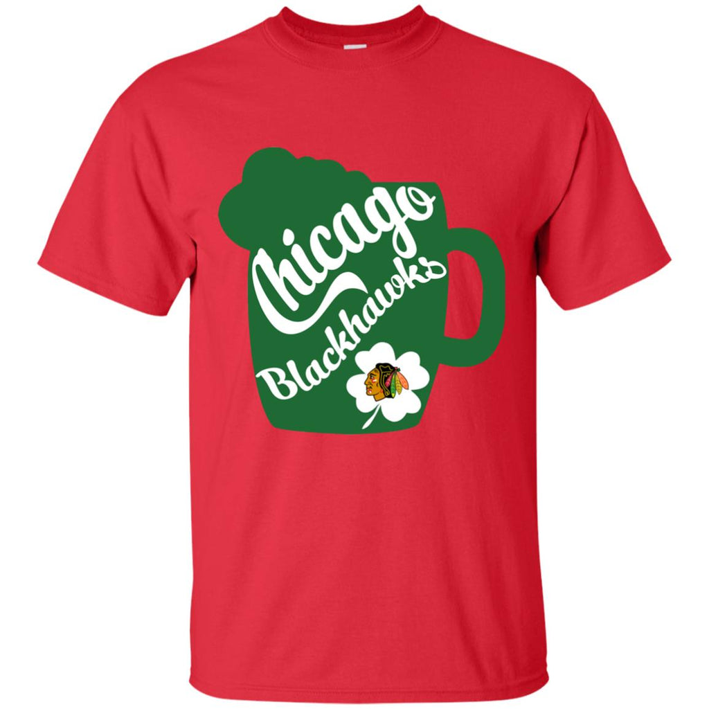 Amazing Beer Patrick's Day Chicago Blackhawks T Shirts