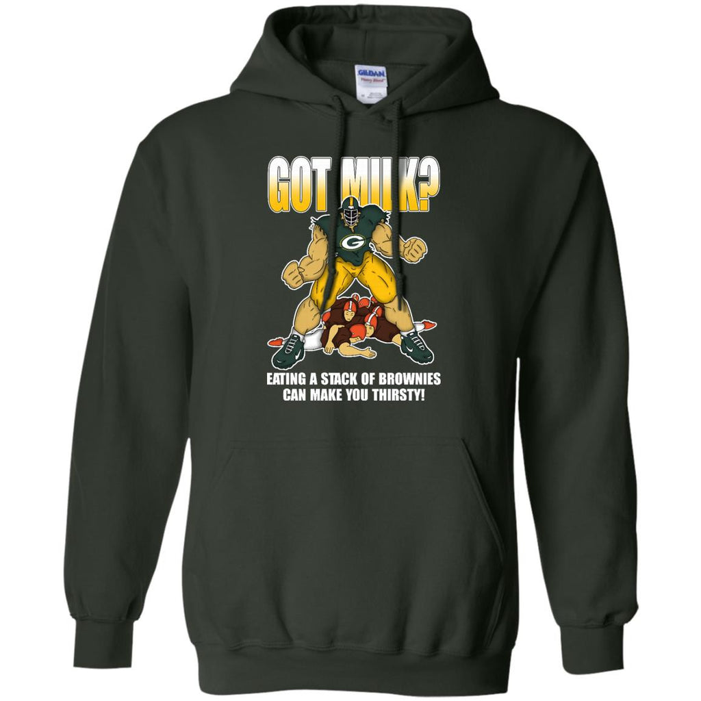 Got Milk Green Bay Packers T Shirt - Best Funny Store