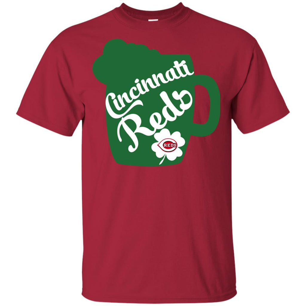 Amazing Beer Patrick's Day Cincinnati Reds T Shirts