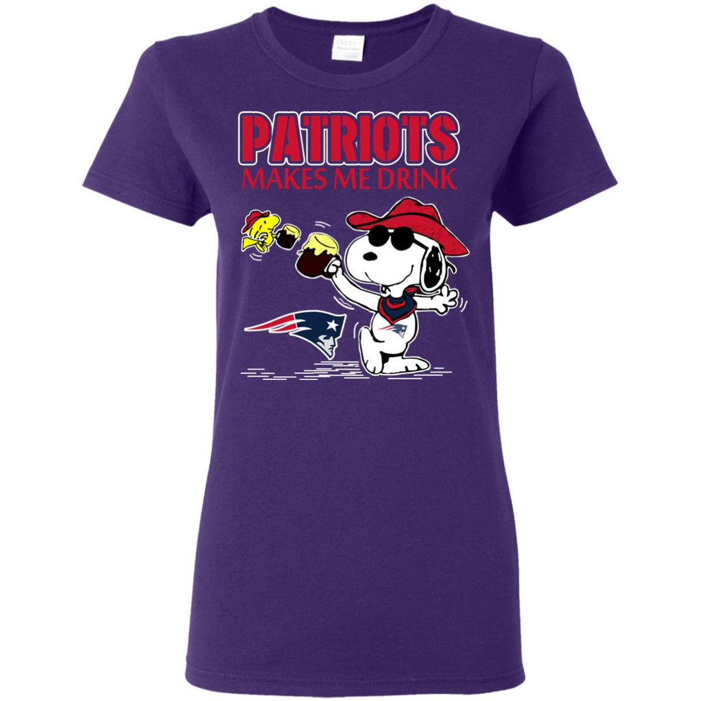 New England Patriots Make Me Drinks T Shirts