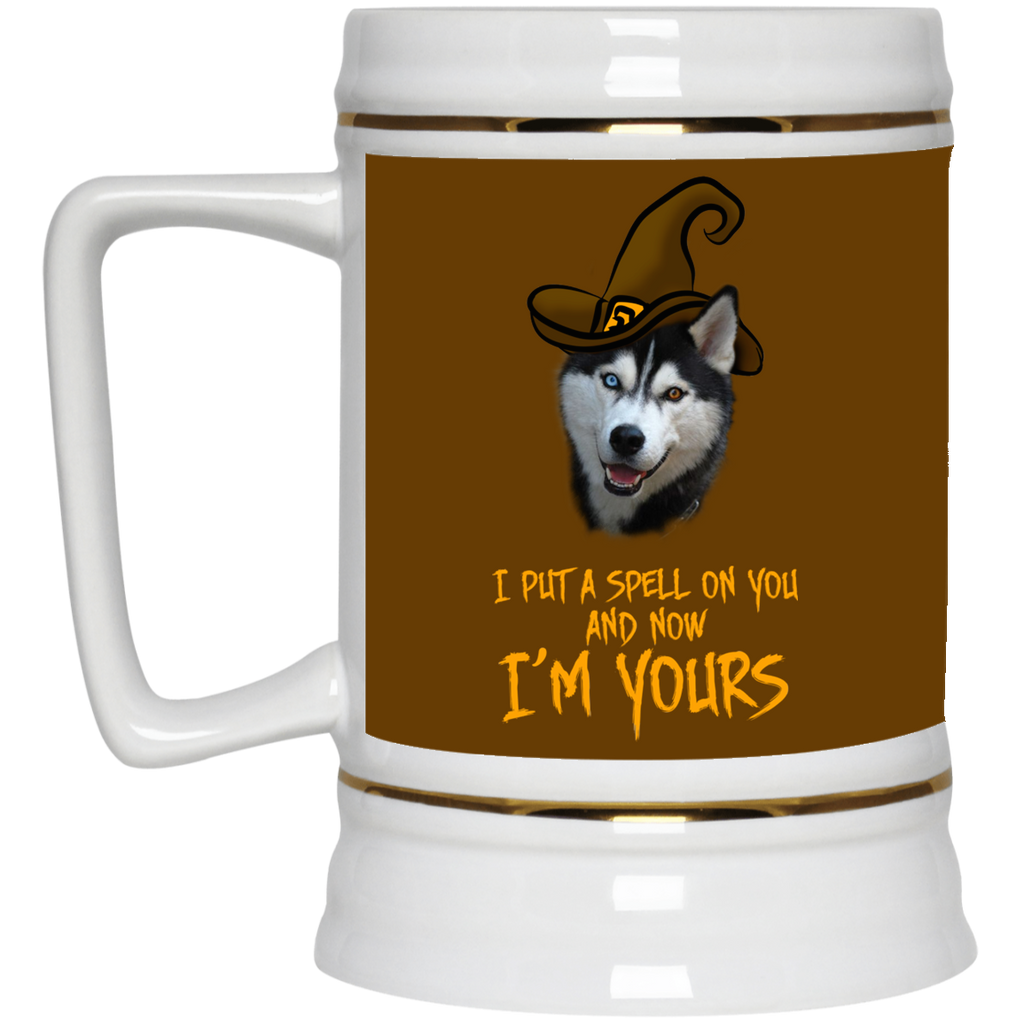 I Put A Spell On You Husky Mugs