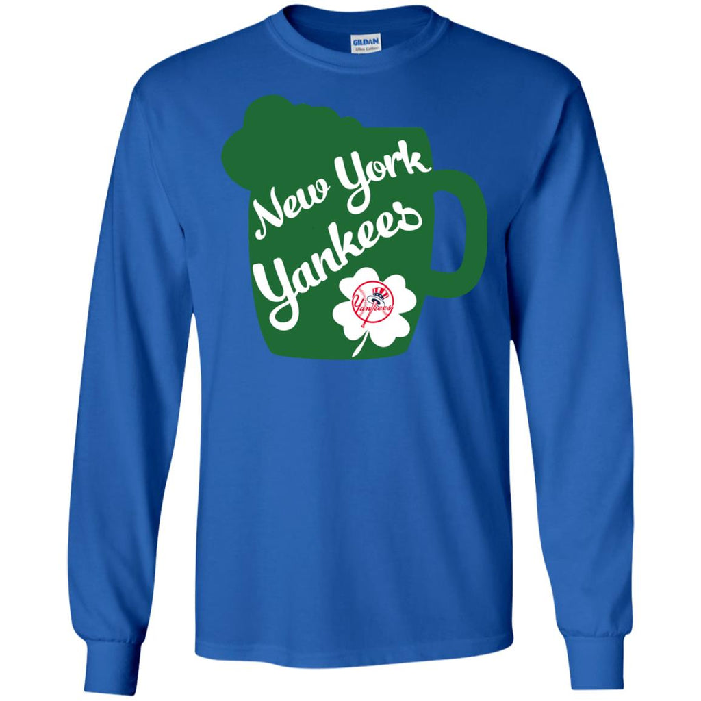Amazing Beer Patrick's Day New York Yankees T Shirts