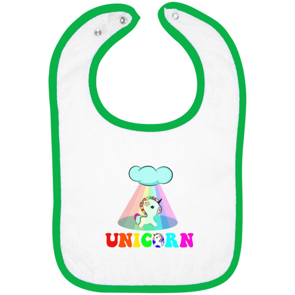 Time To Be A Unicorn Snap Bibs