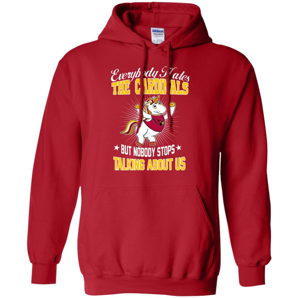 Nobody Stops Talking About Us Arizona Cardinals T Shirt - Best Funny Store